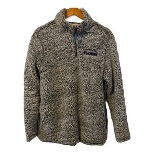 Home Free VERMONT Teddy Bear Sherpa Pullover L